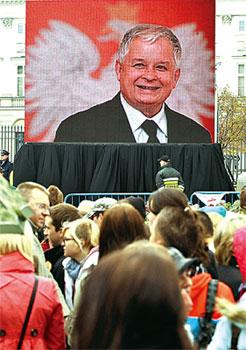 從童星到總統的卡欽斯基