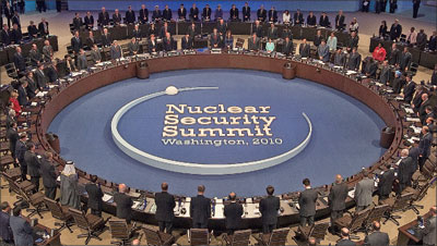 核峰會:奧巴馬笑算胡錦濤