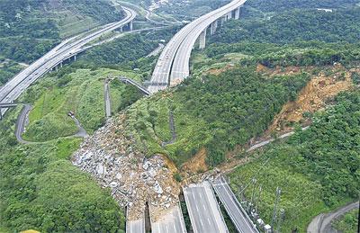 台灣國道史上最嚴重走山 四人罹難國家賠償