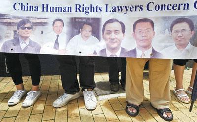 「中國的法治死了」