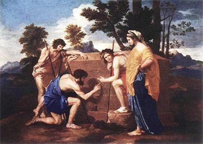 【神傳美術】普桑《阿爾卡迪亞的牧人》生命的追尋和等待