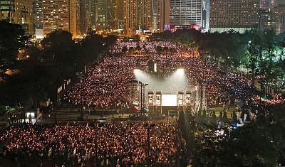 中共越打壓越反抗 香港六四悼念創奇蹟