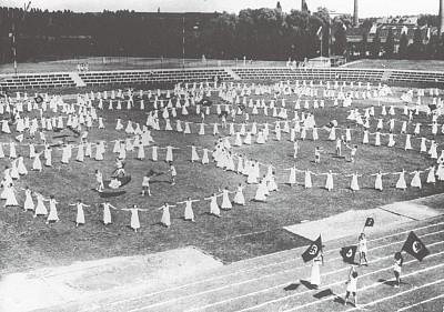 希特勒導演的奧運鬧劇