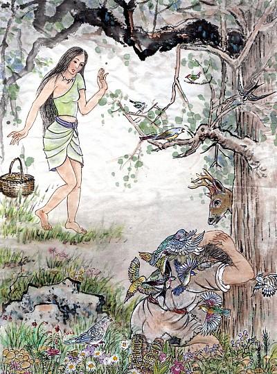 >創造 │ 舜的妹子:敤手敘事5 林子裡的祕密