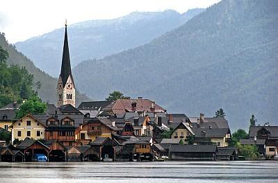自然遺產 │ 阿爾卑斯山最美的小鎮 哈修塔特