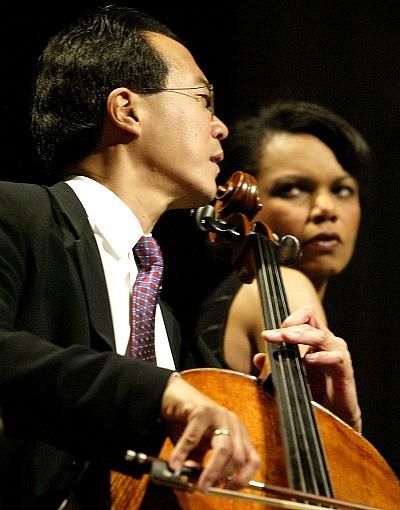 頂級大提琴家馬友友專訪 首先是人,第二是音樂家