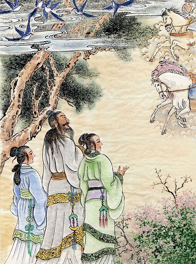 >創造 │ 舜的妹子:敤手敘事15 大青雀,銜粟米