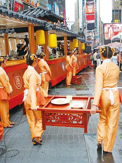 中國菜廚技大賽 古色古香震撼西方