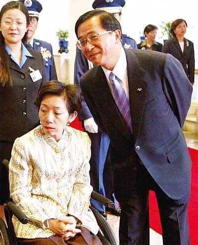 龍潭弊案獲判11年 扁:在黑暗中等待