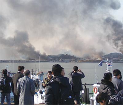 北韓炮擊延坪島始末
