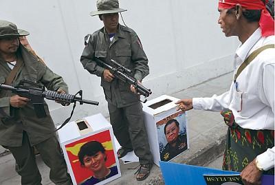 中國吹捧緬甸大選 意在言外