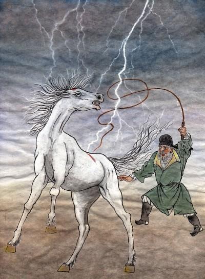 創造 │ 唐朝的寓言:舞馬 6 鞭子