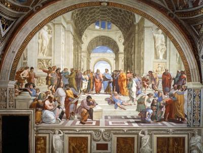 藝術長河 │ 薈萃古典思想 拉斐爾巨作《雅典學院》