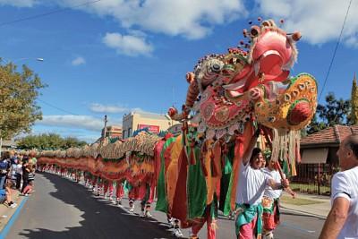 節慶聚焦 │ 澳洲淘金古都 閃耀華人傳統