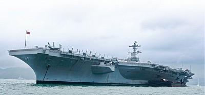 航母訪港 中美暗戰激烈