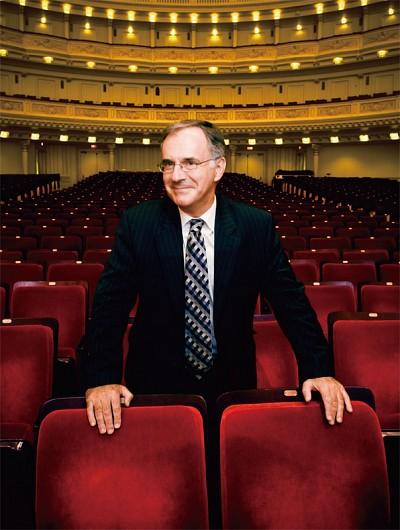 卡內基音樂廳執行與藝術總監基林森爵士專訪