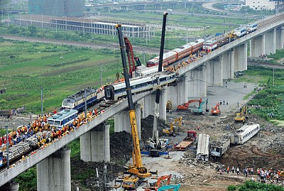 中國高鐵追撞 慘案真相
