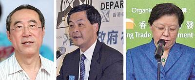 香港特首選舉暗戰烈