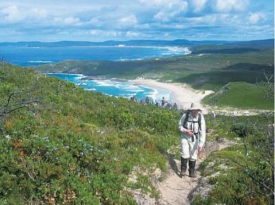 徒步旅行探索西澳