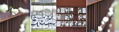 紀念穿越柏林牆的死者與生者