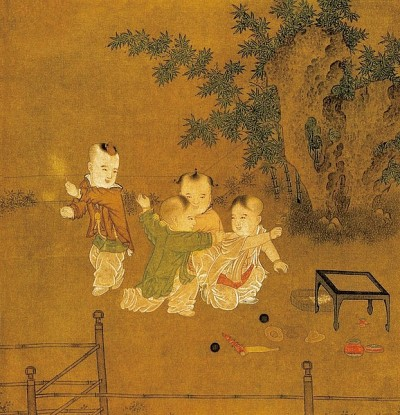 古畫與生活 | 童稚無憂嬰戲圖