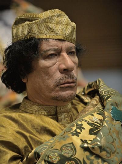 卡扎菲:愚狂的「革命獨裁者」