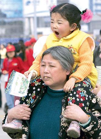 綁架猖獗 中國失蹤兒童多
