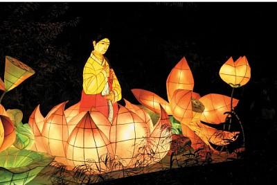 節慶聚焦|溫馨復古 首爾燈會傳統文化發光