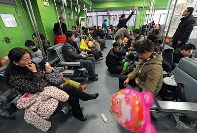 中國健康危機指數破表