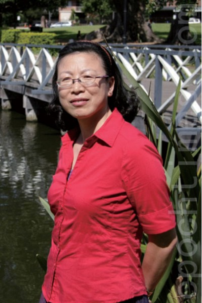 >葉綠素發現者華裔科學家專訪 謙卑而自信 陳敏樂在新發現