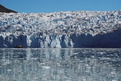 冰融加速 格陵蘭島基岩上升