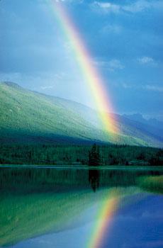 西藏活佛的虹化