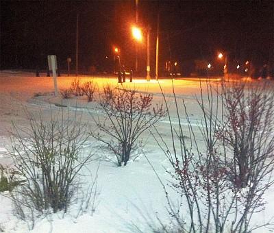 旅人手札|冬夜踏雪