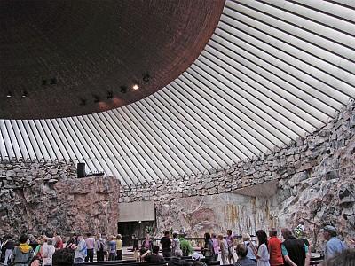 天涯遊蹤|走訪芬蘭岩石教堂和西貝流士公園