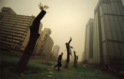 冷漠的中國街道文化