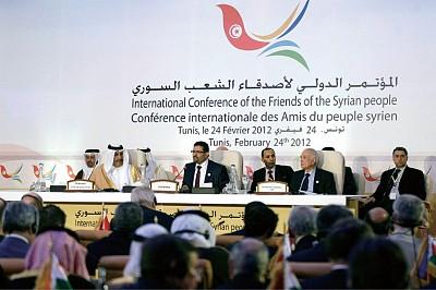 敘利亞之友會議加大施壓 中俄缺席