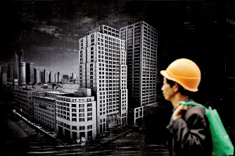 中國經濟觀察|地價下跌 預警中國房地產衰落