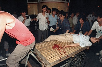 4.薄一波參與策劃「六四」屠殺