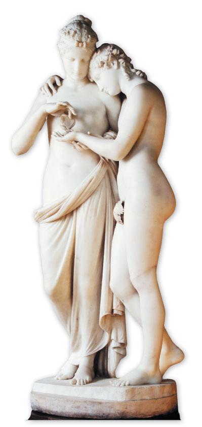 正統美術|〈賽姬與愛神〉守護純淨情感 正統美學的魅力