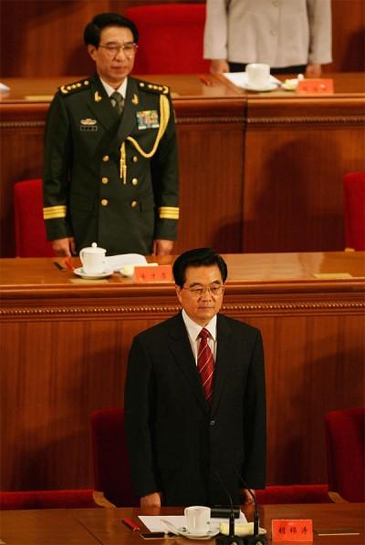 胡錦濤留任軍委主席  常委九變七成定局