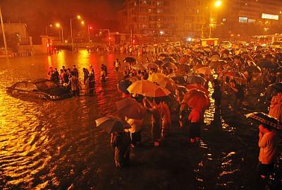 北京大暴雨和中共高層內幕