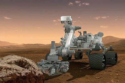 >找尋生命痕跡 好奇號首征火星陸地