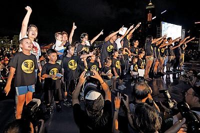 從臺灣看香港立法會選舉