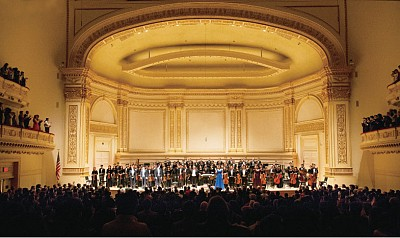 神韻交響樂團卡內基首演 締造輝煌