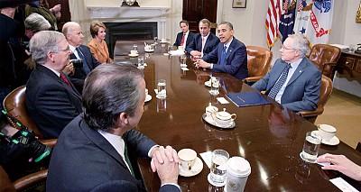 奧巴馬與國會達共識 緩解財政危機現曙光