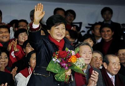 女太子黨 韓國新總統朴槿惠傳奇
