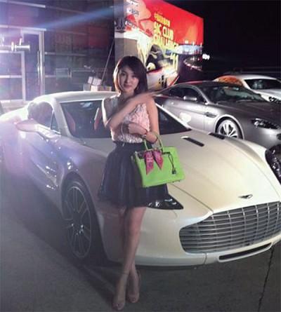 郭美美再發飆 紅會募捐收到14萬「滾」字