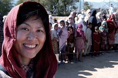 光的女兒 聯合國人道救援專家韓飛野