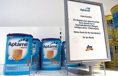 中國留學生德國代購奶粉被遣返 網路聚焦
