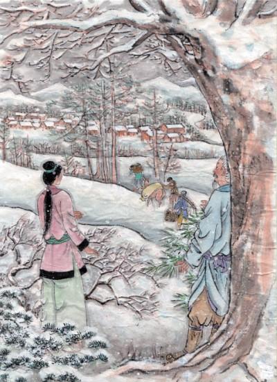 古月今照|雪境荒村古韻長(中)